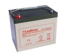 Akumulátor (baterie) Leaftron LTC12-75, 12V - 75Ah, cyklická