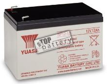 Záložní akumulátor (baterie) Yuasa NP 12-12 (12Ah, 12V)