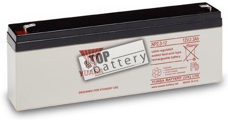Záložní akumulátor (baterie) Yuasa NP 2,3-12 (12V, 2,3Ah)