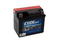 Motobaterie EXIDE BIKE Maintenance Free 3Ah, 12V, 30A, YTX4L-BS