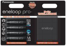 Baterie Panasonic Eneloop Pro Akkubox BK-3HCDEC4BE, AA, 2500mAh, (blistr 4ks) + box