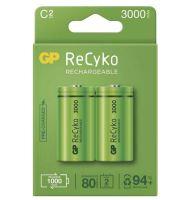 Baterie GP Recyko+ 3000mAh, HR14, C, nabíjecí, 1032322300, (Blistr 2ks)