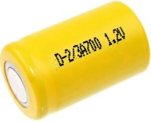 Akumulátor Mexcel 2/3A, 1,2V 700mAh, Ni-CD, 1ks