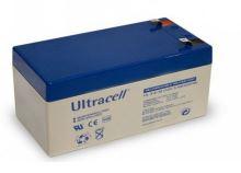 Staniční (záložní) baterie Ultracell UL3,4-12, F1, 3,4Ah,12V ( VRLA )