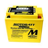 Motobaterie Motobatt MBTX12U, 12V, 14Ah, 200A (YTX12-BS, YTX14H-BS, AGM12-10)