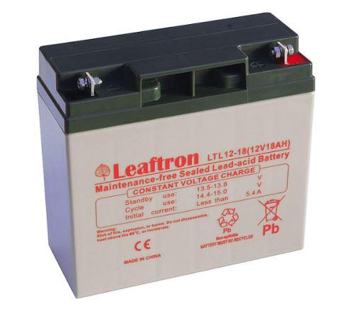 Akumulátor (baterie) Leaftron LTL12-18, 12V - 18Ah