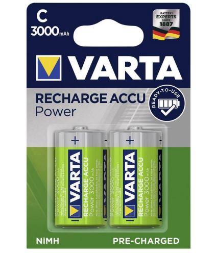 Baterie Varta HR14, 56714 101 402, C, 3000mAh, nabíjecí, (Blistr 2ks)