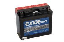 Motobaterie EXIDE BIKE Maintenance Free 10Ah, 12V, 160A, YT12B-BS