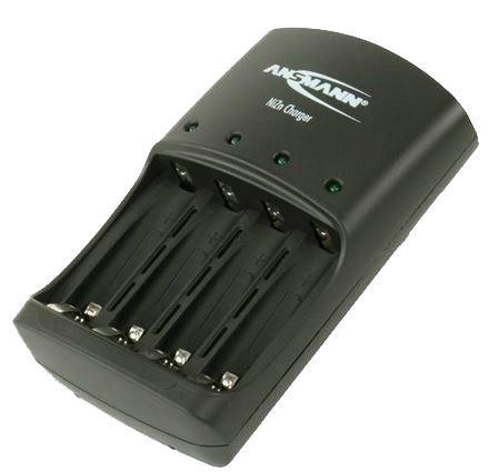 Nabíječka Ansmann Ni-Zn pro 1,65V akumulátory AA, AAA, 1-4 články