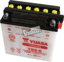 Motobaterie Yuasa YB9-B, 12V, 9Ah