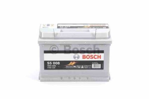 Autobaterie BOSCH Silver S5 008, 77Ah, 12V, 780A, 0 092 S50 080