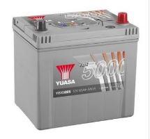 Autobaterie Yuasa Silver High Performance 65Ah, 12V, 550A (YBX5005)