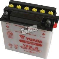 Motobaterie Yuasa YB9L-B, 12V, 9Ah