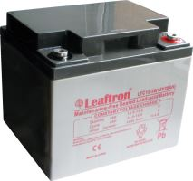 Akumulátor (baterie) Leaftron LTC12-38, 12V - 38Ah, cyklická