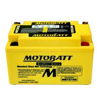 Motobaterie Motobatt MBTZ10S, 12V, 8,6Ah, 140A (YTX7A-BS,KTZ10S)