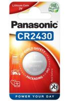Baterie Panasonic CR2430, Lithium, 3V, (Blistr 1ks)
