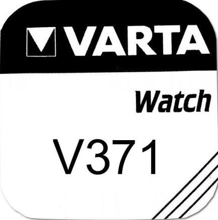 Baterie Varta Watch V 371, SR920SW, hodinková, (Blistr 1ks)