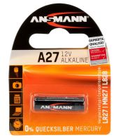 Baterie Ansmann A27, 27A, MN27 Alkaline, 12V, (Blistr 1ks)