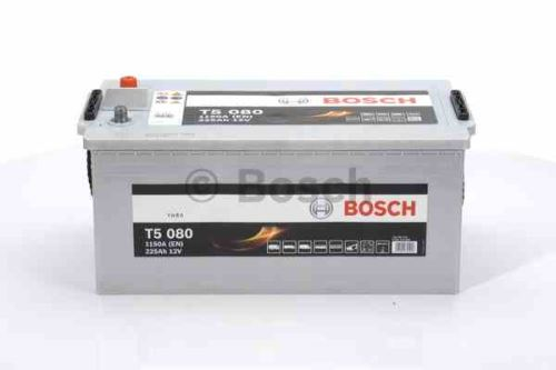 Autobaterie BOSCH T5 080 HDE, 225Ah, 12V, 1150A, 0 092 T50 800