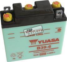 Motobaterie YUASA B39-6, 6V, 7Ah