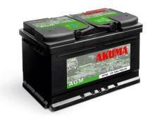 Autobaterie Akuma AGM (Start-Stop) 12V, 70Ah, 760A, 7905520