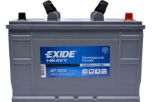 Autobaterie EXIDE Professional Power HDX, 12V, 120Ah, 870A, EF1202