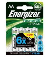 Baterie Energizer Extreme, HR6, AA, 2300mAh, (Blistr 4ks) nabíjecí