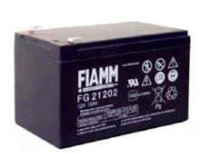 Olověný akumulátor Fiamm FG21202, 12Ah, 12V, (faston 250)