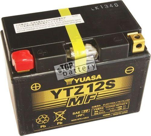 Motobaterie Yuasa YTZ12S, 12V, 11Ah