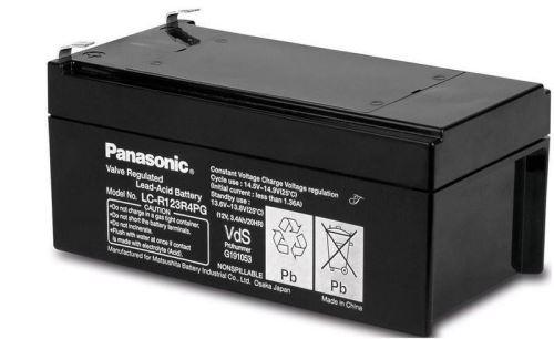 Akumulátor (baterie) PANASONIC LC-R123R4PG, 3,4Ah, 12V