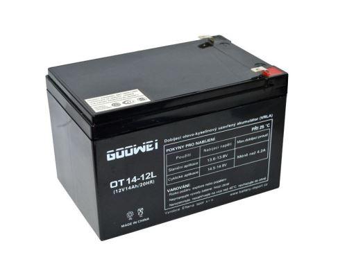 Trakční (gelová) baterie YUCELL OTL14-12, 14Ah, 12V ( VRLA )
