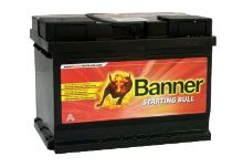 Autobaterie Banner Starting Bull 560 08, 60Ah, 12V, 480A ( 56008 ) - Levá