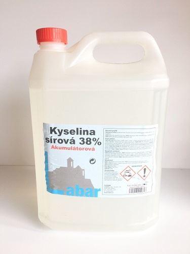 Kyselina akumulátorová 5L, (kanystr), 1ks