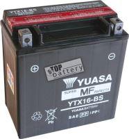 Motobaterie YUASA YTX16-BS, 12V, 14Ah