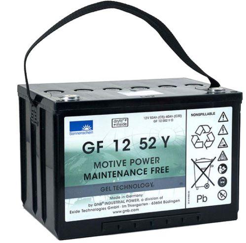 Trakční gelová baterie Sonnenschein GF 12 052 Y O, 12V, 60Ah ( C5/52Ah, C20/60Ah)