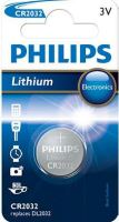 Baterie Philips CR2032, Lithium, 3V, (Blistr 1ks)