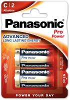 Baterie Panasonic Pro Power, LR14, C, (Blistr 2ks)