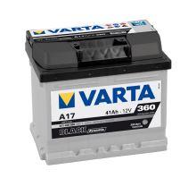 Autobaterie VARTA BLACK Dynamic 41Ah, 12V (A17)