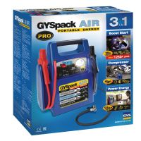 Startovací Booster GYS Pack AIR + Kompresor, 12V/1250A (026322)