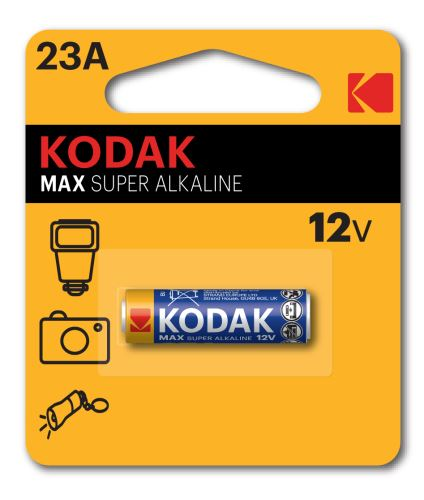 Baterie Kodak Max 23AE, LRV08, 23A, Alkaline, 12V, (Blistr 1ks)