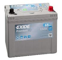 Autobaterie EXIDE Premium, Carbon Boost, 12V, 65Ah, 580A, EA654