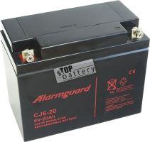 Baterie (akumulátor) ALARMGUARD CJ6-20, 6V, 20Ah