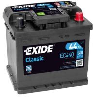 Autobaterie EXIDE Classic, 12V, 44Ah, 360A, EC440