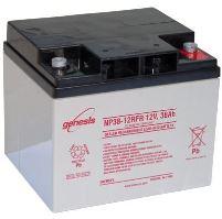 Záložní akumulátor (baterie) Genesis NP 38-12FR, 38Ah, 12V, Závit, M5