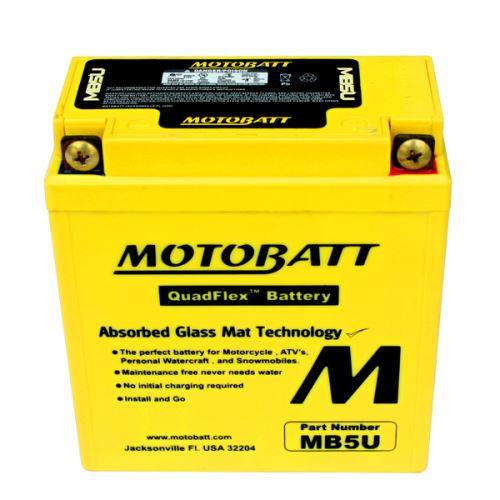 Motobaterie Motobatt MB5U, 12V, 7Ah, 90A (12N5-3B, YB5L-B)