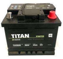 Autobaterie TITAN 12V, 45Ah, 360A