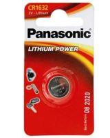 Baterie Panasonic CR1632, Lithium, 3V, (Blistr 1ks)