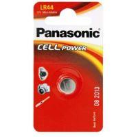 Baterie Panasonic Alkaline LR44, AG13, 357, 1,5V,  (Blistr 1ks)