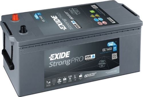 Autobaterie EXIDE StrongPRO, 12V, 140Ah, 800A, EE1403