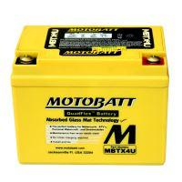 Motobaterie Motobatt MBTX4U, 12V, 4,7Ah, 70A (YB4L-B, YB4L-A,YTX4L)